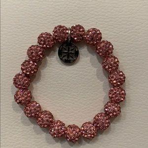 Rustic Cuff Emerson pink bracelet